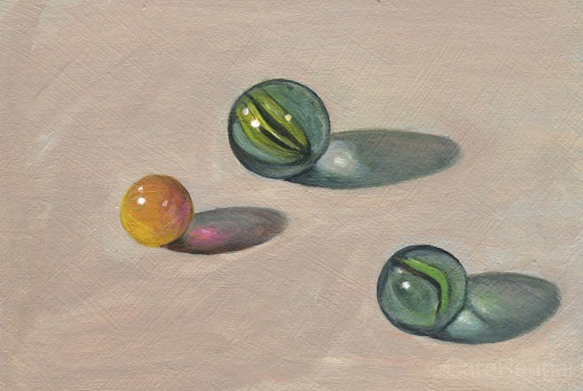 Marbles by Cate Rangel